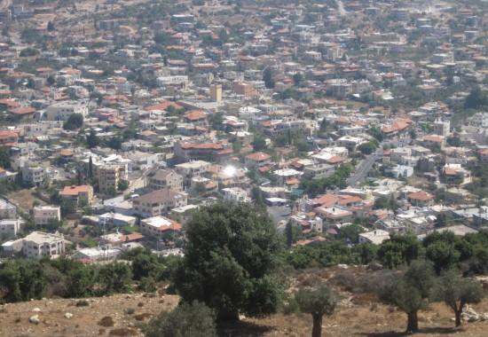 Друзская деревня Хурфейш в Галилее.