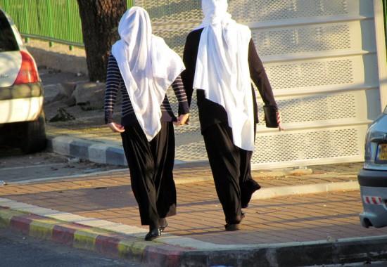Друзские женщины. Деревня Пкиин в Галилее.