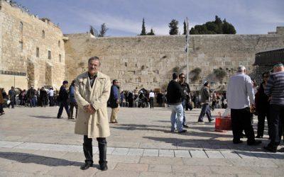 Иерусалим. Стена Плача. Зима.