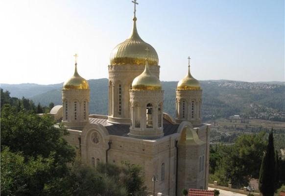 Горний православный монастырь в Эйн-Карем.