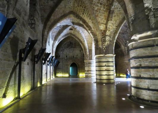 Акко. Рыцарские залы
