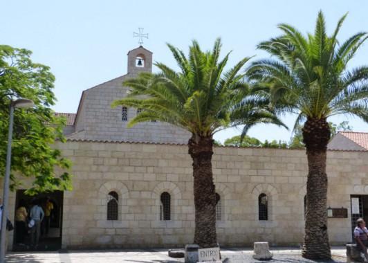 Церковь Умножения рыб и хлебов в Табхе.