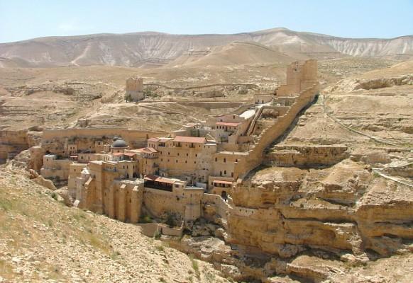 Монастырь Мар-Саба в окрестностях Вифлеема