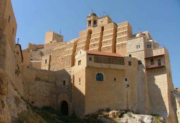 Монастырь Мар-Саба в окрестностях Вифлеема (2)