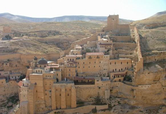 Монастырь Мар-Саба в окрестностях Вифлеема (3)
