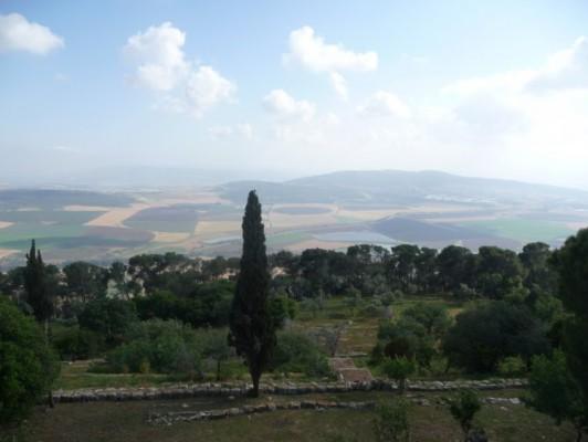 Вид с горы Фавор.