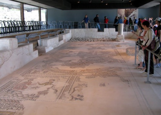 Синагога талмудического периода в Ципори