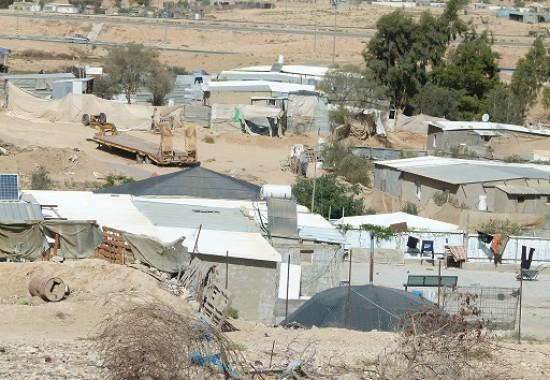 Поселок бедуинов в Негеве.