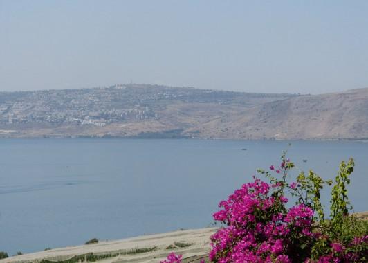 Кинерет и город Тверия
