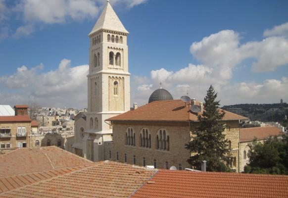 Протестантская церковь в Иерусалиме