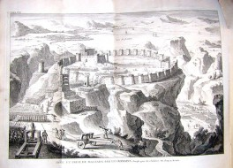 Масада. Средневековый рисунок