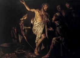 Эйндорская пророчица вызвала царю Саулу дух пророка Самуила
