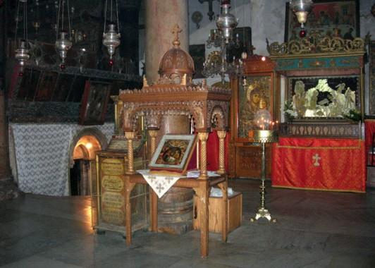 Храм Рождества Христова – древняя византийская базилика.