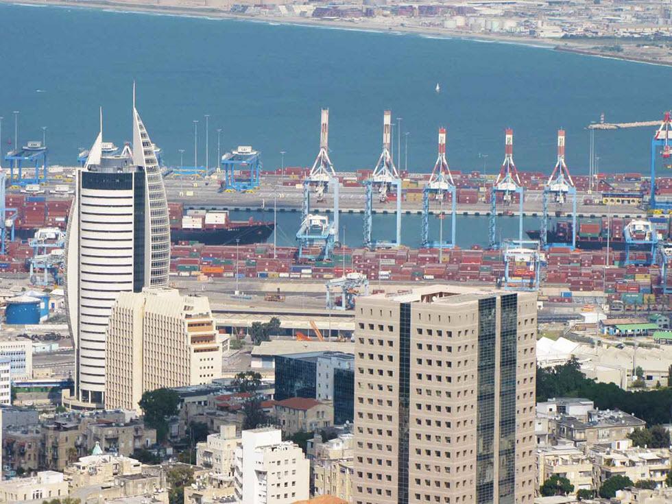 haifa-port-view
