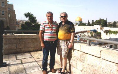 Возле Стены Плача, Иерусалим лето 2016