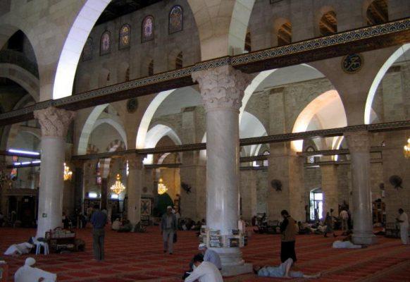 Мечеть Аль Акса внутри