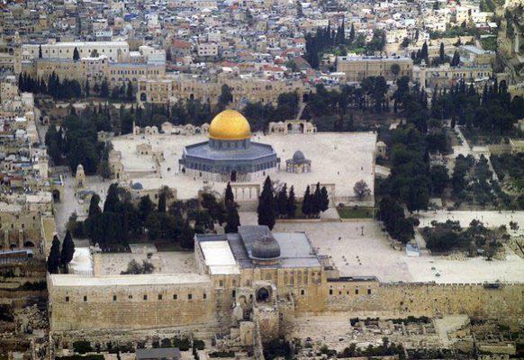 Панорама мечетей на Храмовой горе