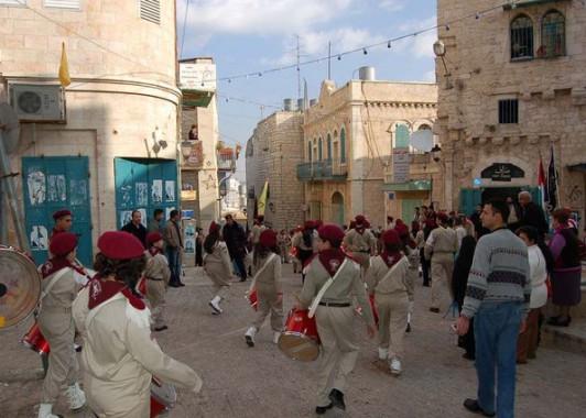 Рождественский парад в Вифлееме (3)