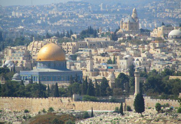 Золотой купол мечети Скалы – один из символов Иерусалима.