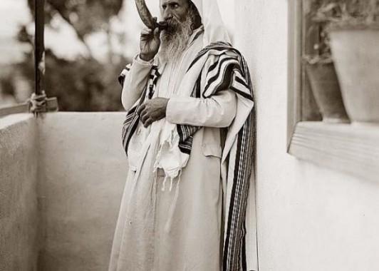 Иерусалимский еврей. Старое фото.