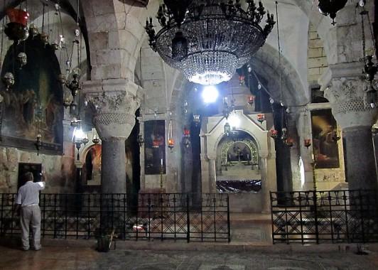 Армянская капелла Св. Елены в Храме Гроба.