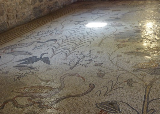Мозаика с нильскими мотивами из Табхи.