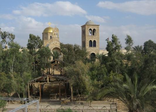Каср эль Эхуд – место крещения на реке Иордан.