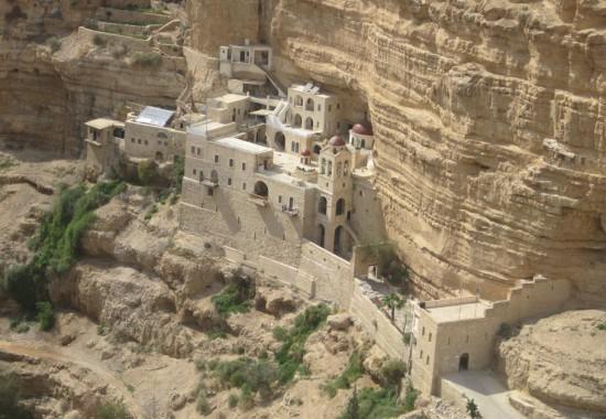 .Монастырь св. Георгия Хозевита в Иудейской пустыне.