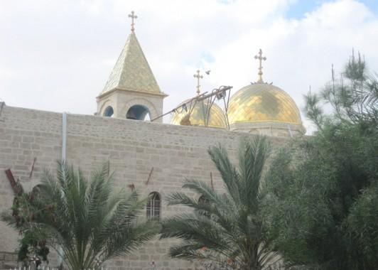 Монастырь Герасима Иорданского в пустыне.