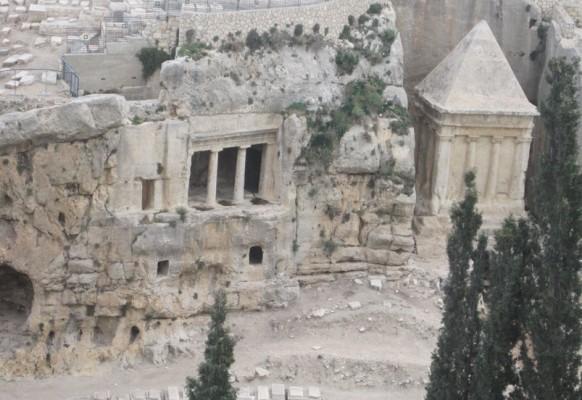 Царские могилы в долине Кидрон (2)