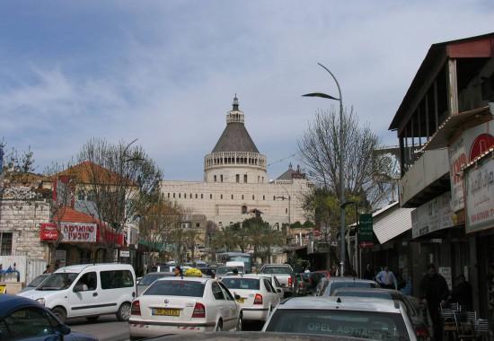 Базилика Благовещения в Назарете.