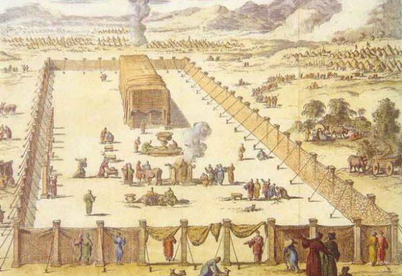 Походный еврейский храм в Синайской пустыне – современная реконструкция