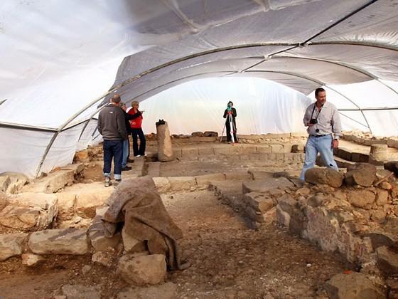 Раскопки в Магдале