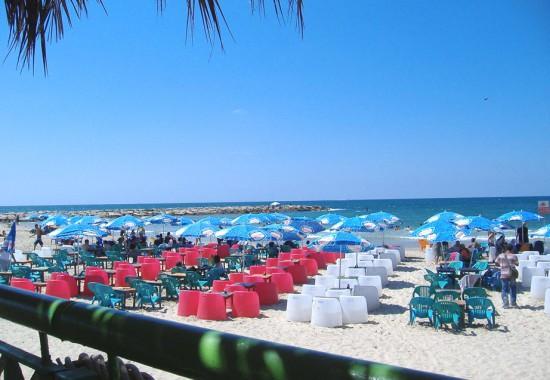 Mорской берег Израиля