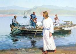 Христос и его ученики на Галилейском море