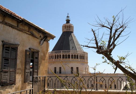 Купол базилики Благовещения