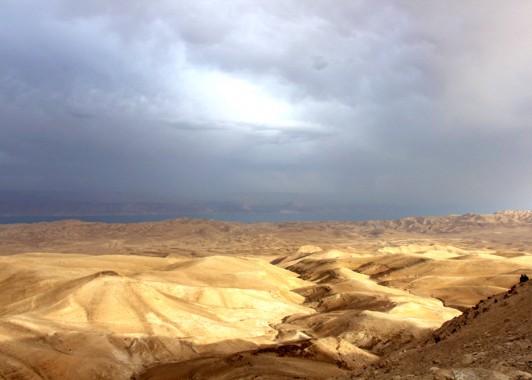 Панорама Иудейской пустыни.