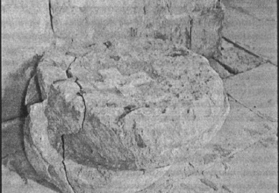 Пуп Земли в каталиконе храма Гроба Господня в Иерусалиме