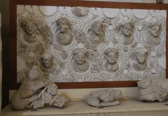 Отделка интерьеров дворца халифа Хишама, 7 век н.э.