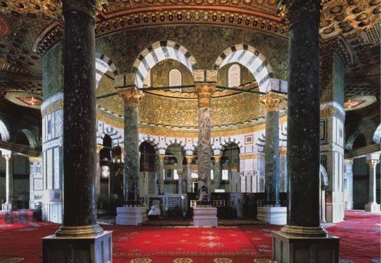 Мечеть Скалы внутри