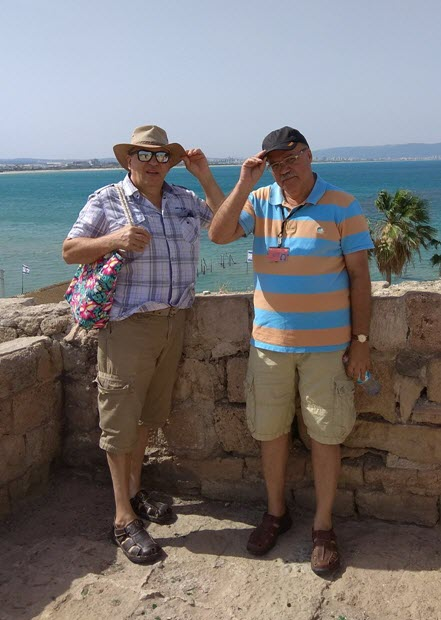Peter with tourists June-2018